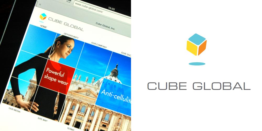 Logodesign, CubeGlobal, Los Angeles, USA, in Zusammenarbeit mit Donald Royce