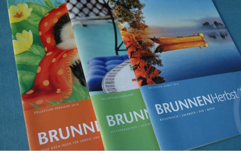 Corporate Identity für den Verlag Brunnen Giessen