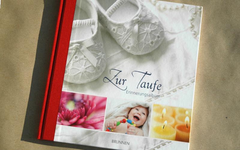Album Cover und Innenlayout, Brunnen Verlag, Giessen